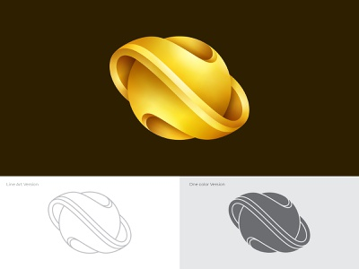Nebula Jewelry Logo Concept shopping industry necklace gradient wedding metal earrings accessory jewel shine glamour gift bracelet ring fashion 3d jewelry gold branding logo