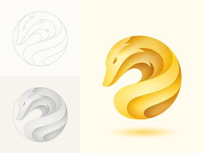 Golden Fox gold golden fox branding logo