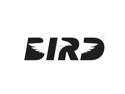BIRD Logotype eagle bird design type branding logo