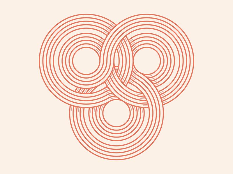 Infinity infinity branding © yoga perdana logo illustration vector yp line art type