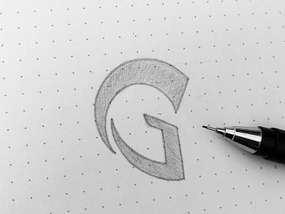 G for Gladiator company symbol icon battle soldier spartan prince castle king kingdom type g mask helmet knight warrior gladiator design branding logo