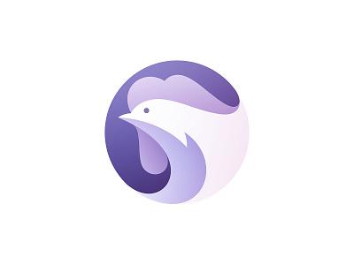 Rooster modern gradient gradient logo vector illustration bird colorful colors color branding design brand identity brand design brand logo design logodesign logos illustration vector rooster branding logo