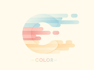 Color yp © yoga perdana c logo type illustration