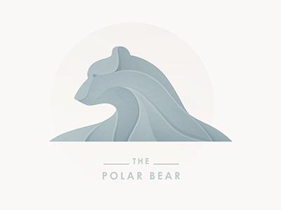 Polar Bear logo yp © yoga perdana polar bear sculpture