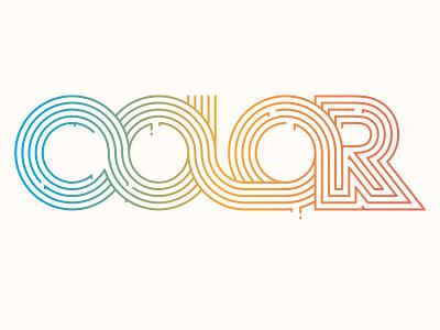 Color © yoga perdana yp color line art