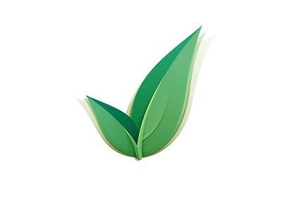 Check Mark Concept Final project faria leaf yp © yoga perdana
