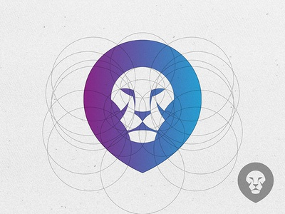 Lion Logo © yoga perdana yp