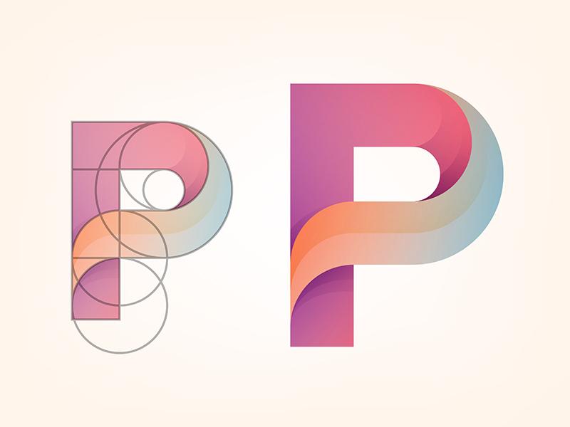 Logo Project © yoga perdana yp p project path evolution logo