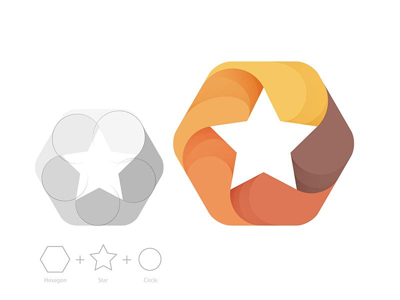 Logo Exploration star yp © yoga perdana