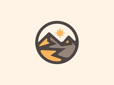 Golden Mountain Logo yp © yoga perdana logo