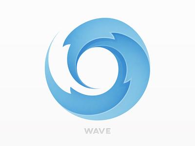 wave logo by yoga perdana dribbble rh dribbble com wave logos free wave logo brand