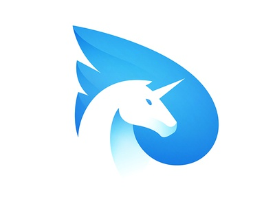 Pegasus Logo horse logo © yoga perdana yp unicorn pegasus animal