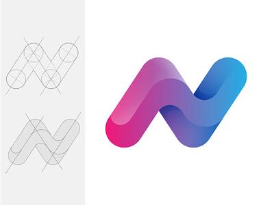 N + Z z n type icon logo © yoga perdana yp