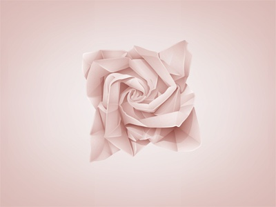 Origami roses ⇆ bloomize   300x400
