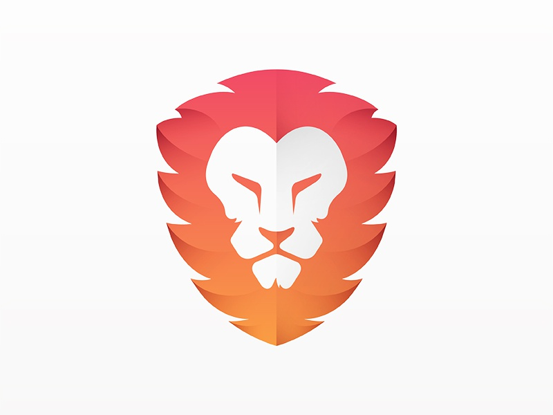 Lion Logo yp © yoga perdana logo