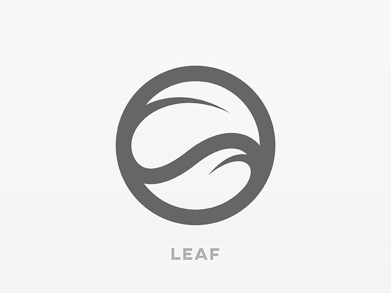 Leaf Logo yp © yoga perdana logo
