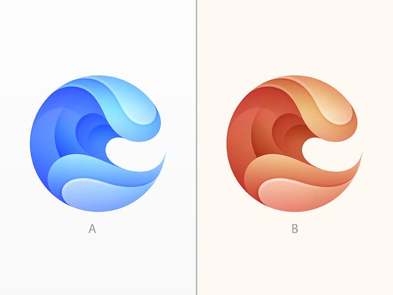 Wave yp © yoga perdana logo
