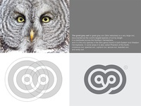 The Great Grey Owl Logo