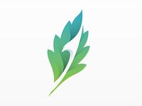 Leaf + Eagle Logo