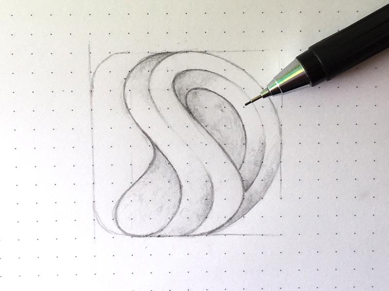SD Logo Sketch