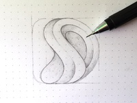 SD Logo Sketch