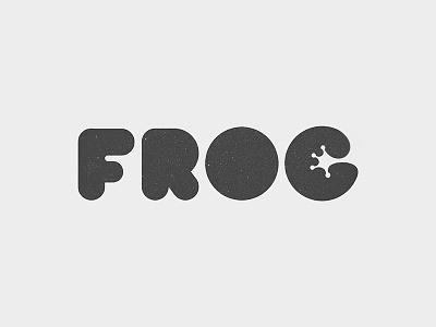 Frog Logo frog type typography yp logo © yoga perdana