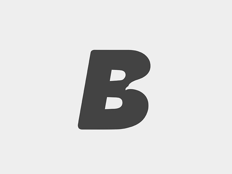 B Bird type animal bird logo yp © yoga perdana