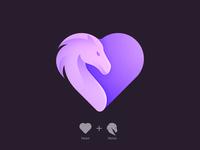Heart + Horse Logo