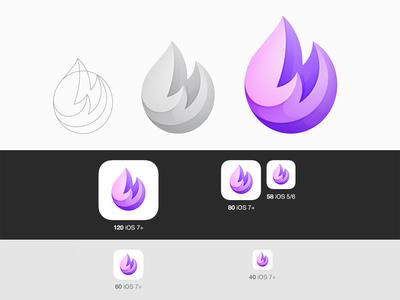 Fire Ios Icon