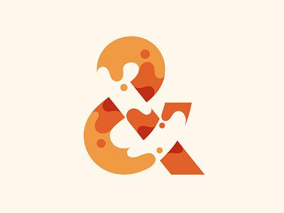 Ampersand ampersand logo design typography branding illustration type © yoga perdana yp