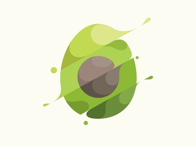 Avocado avocado design branding vector illustration © yoga perdana yp