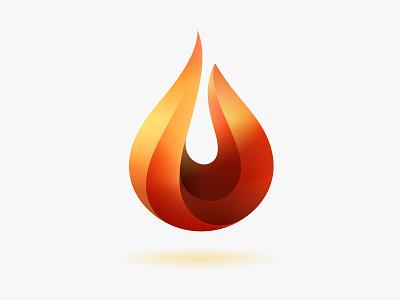 Fire Logo design icon vector logo © yoga perdana yp