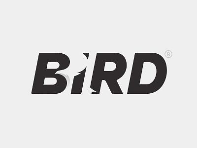 BiRD logotype eagle type logo