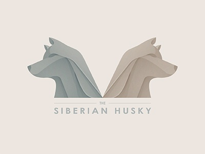 The Siberian Husky mark branding gradient logo modern logo simple logo logo design logo maker logo designer siberian husky siberian dog logo brand statue vector illustrator ai illustration © yoga perdana yp