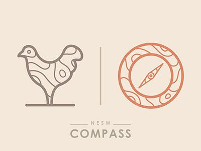 Compass © yoga perdana logo north south east west compass illustrator vector ai yp