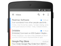 Android mail 4x