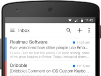 Android mail device