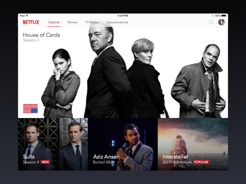 Netflix shot