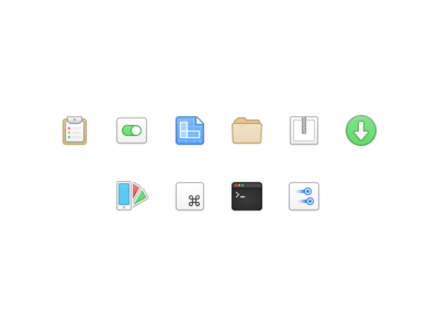 Development Icons (using Figma) figma folder download touch code swatch checklist development ios icon icons