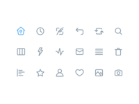 Twitter Line Icons (Made with Figma)