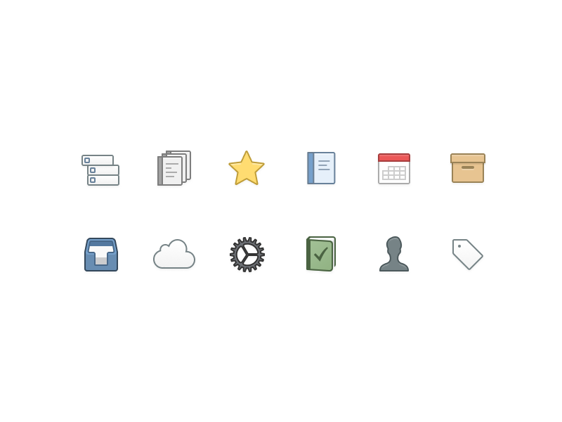 ☑️ Things Icons (Made with Figma) task list todo macos ios settings things replacement icons ux ui