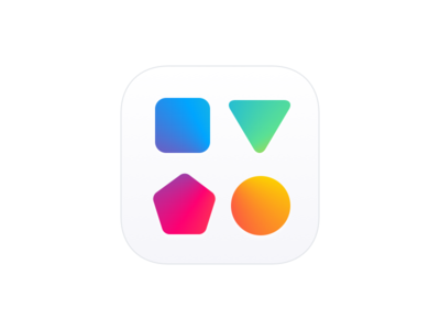 Shape Sorter App Icon