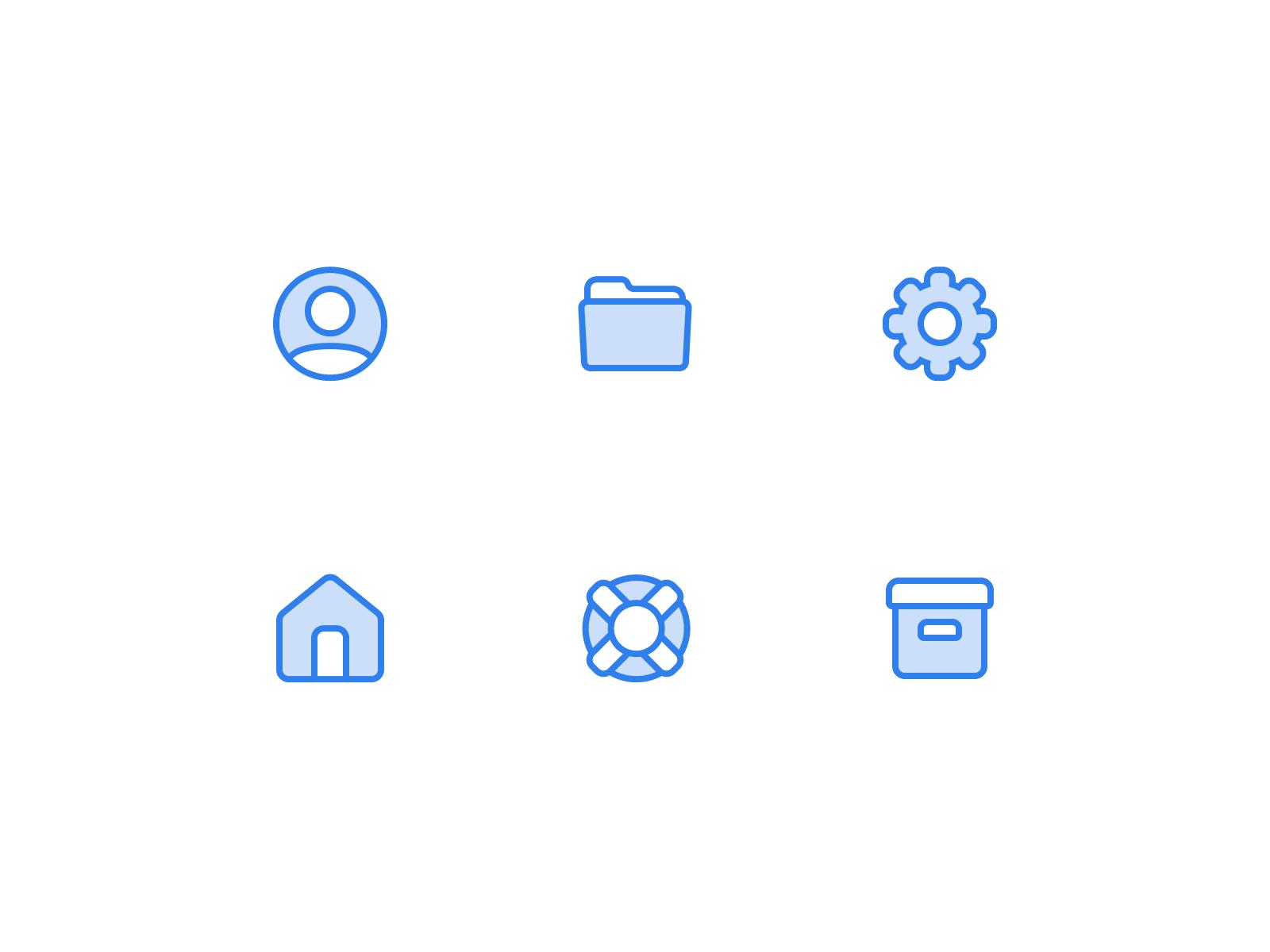 Icons 4x