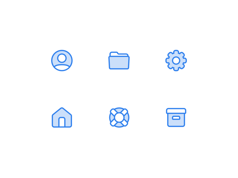 👨🏽‍💻🏠📂⚙️ Icons vector free freebie flat web figma icon icons ux app ui
