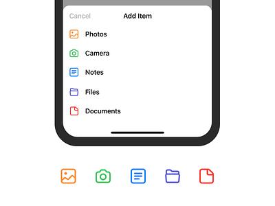 Drawer Icons figma bottom sheet mobile icon application icons design ios ux app ui ui.