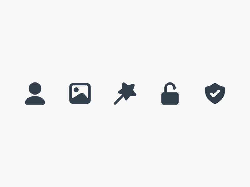 👨🏼💼🌄🧙🏼♀️🔒🛡 Icons ios vector flat figma design ux app ui icons icon