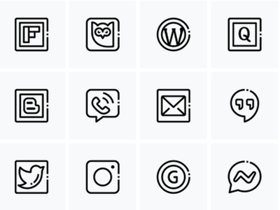 social media2 design fully ui royalty free icons custom icons fullyui icons iconsets iconset social media networking social network socialmedia communication