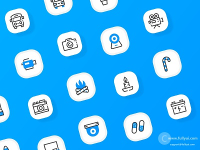 Basic UI icons multicolor filled outline ui design ui vectors design illustration fullyui royalty free icons custom icons icon pack icons pack icon set icons user interface ui user interface