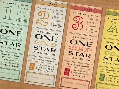 ticket design print design designers designs philadelphia louisville color pallete designer punch card ticket design ticket retro vintage typography layout graphic design graphic design