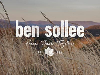 Branding for Ben Sollee logo design branding design brand identity brand design logo illustration art branding illustration typography louisville graphic graphic design designer design
